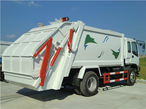CEEC Guidance-- ISUZU 12 CBM garbage compactor truck manual