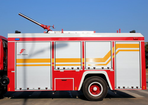 Russia customer order ISUZU 5 CBM fire trucks