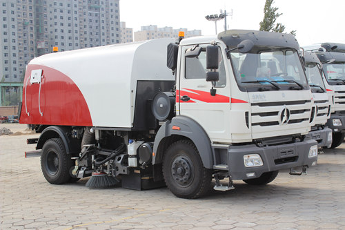 Beiben 1621 road sweeper truck