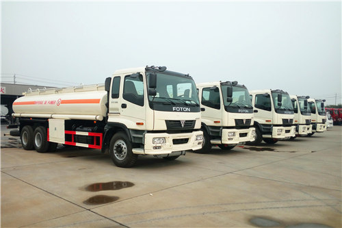 FOTON 20cbm fuel bowser trucks for sale