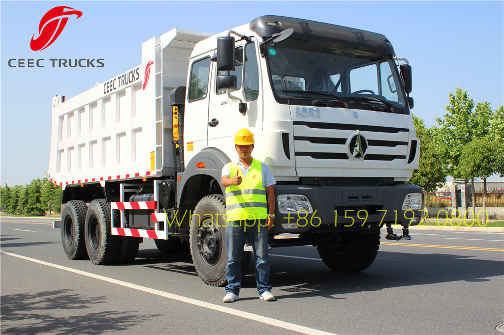 China Manufacturer supply beiben 2534 tipper truck