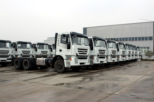 80 units IVECO trucks export to South america