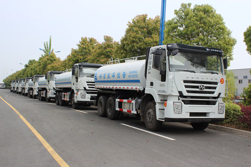 IVECO 100 units water bowser export Angola